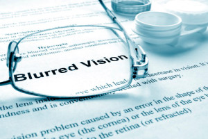 Contacts as a solution to blurred vision